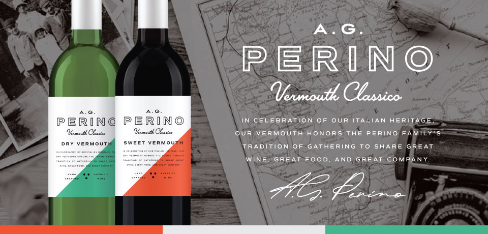 AG Perino Classic Sweet and Dry Vermouth