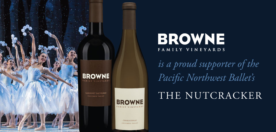 Browne family vineyards is a proud sponsor of the pacific northwest ballet