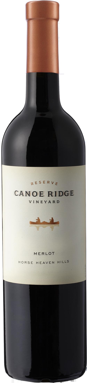 Canoe Ridge Merlot bottle