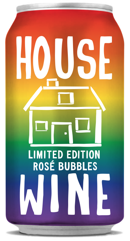 House Wine Rainbow Pride Can