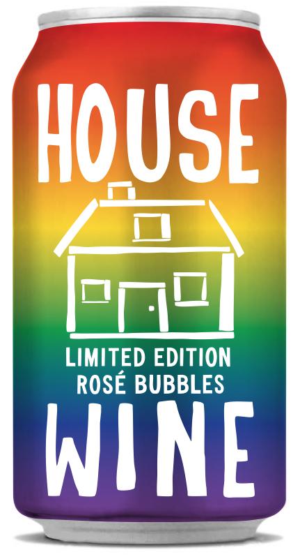 House Wine Rainbow Pride Can