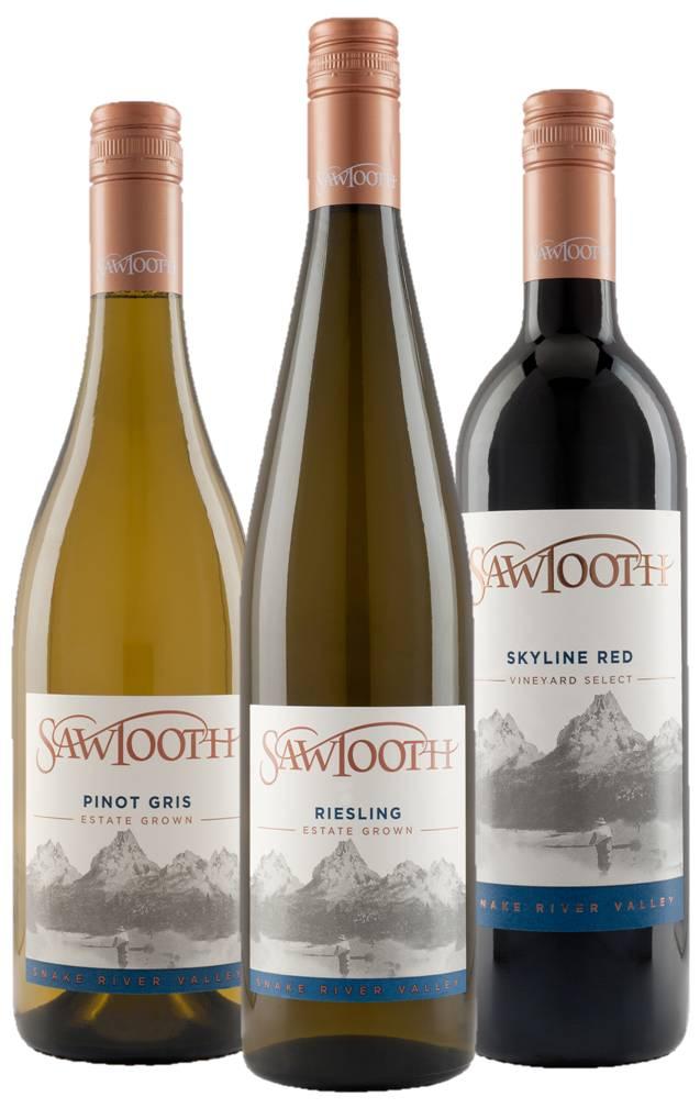 Sawtooth Wine Group Shot