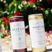 West Side Wine Co cans