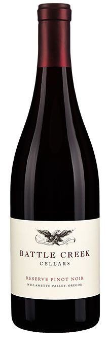 Battle Creek Cellars Reserve Pinot Noir Image