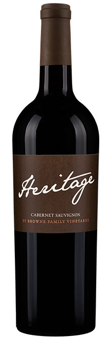 Browne Family Vineyards Heritage Cabernet Sauvignon (on premise only) Image