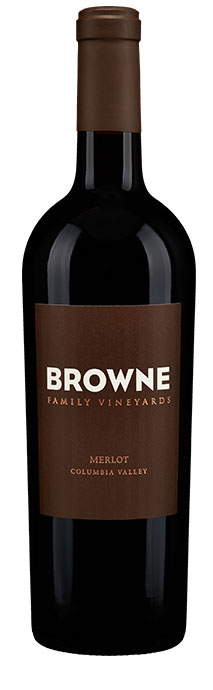 Browne Family Vineyards Merlot Image
