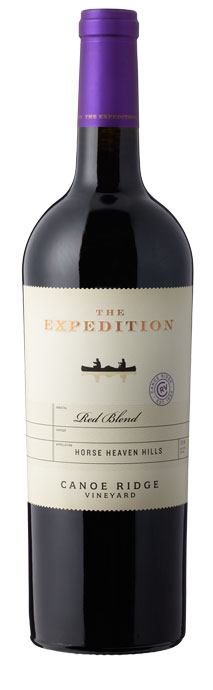 Canoe Ridge Vineyard  The Expedition Red Blend Image