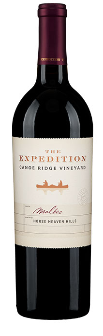 Canoe Ridge Vineyard  The Expedition Malbec Image