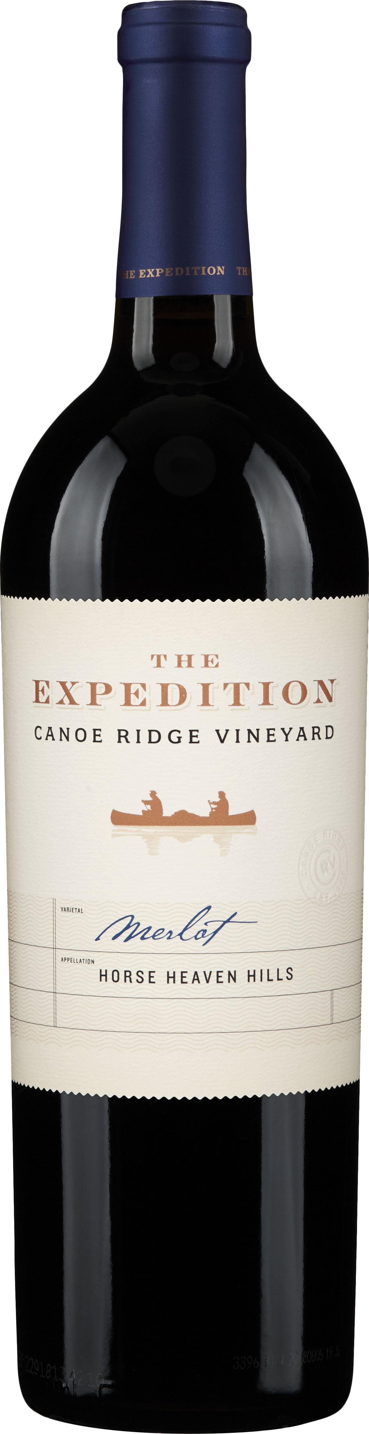 Canoe Ridge Vineyard  The Expedition Merlot Image