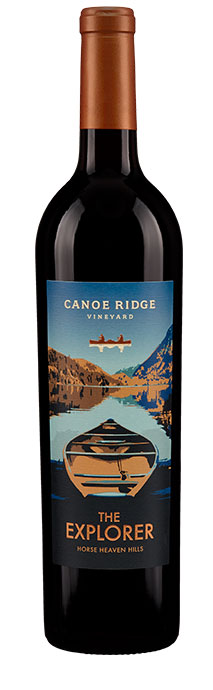 Canoe Ridge Vineyard  The Explorer Red Blend Image