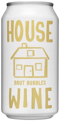 House Wine Brut Bubbles (Can) Image