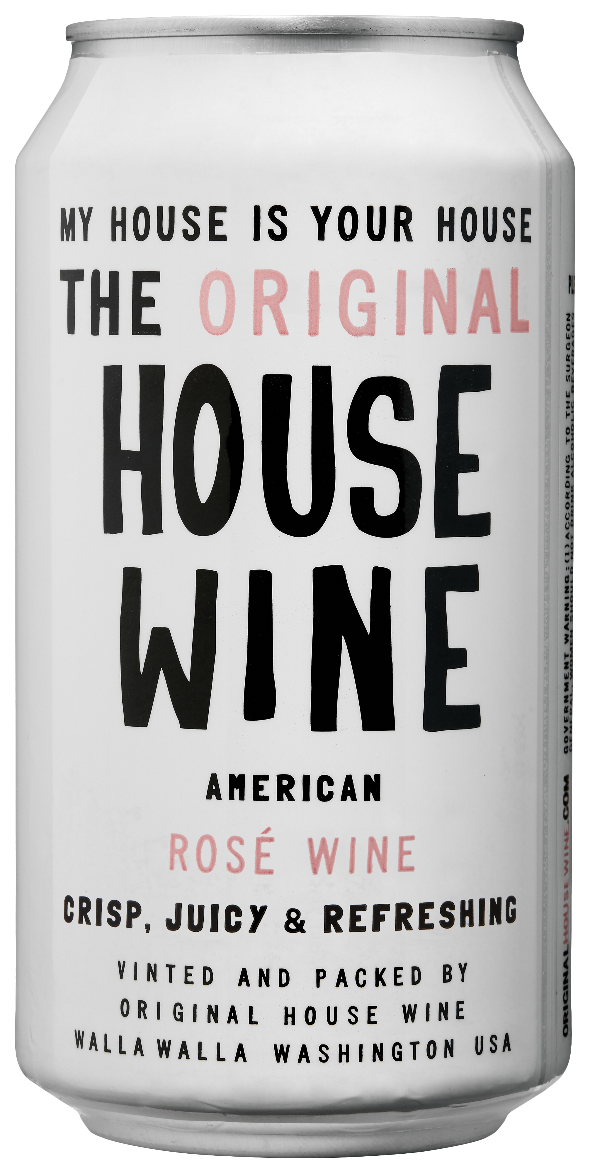 precept wine » our wines » house wine » rosé can