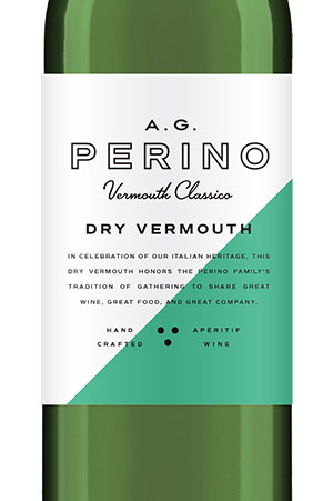AG Perino Dry Vermouth Bottle Image