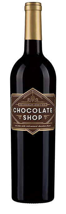 Chocolate Shop Chocolate Red Wine Image