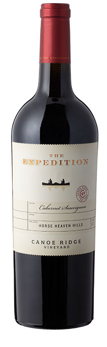 Canoe Ridge Vineyard  The Expedition Cabernet Sauvignon Image