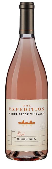 Canoe Ridge Vineyard  The Expedition Rosé Image