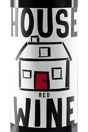House Wine Bottle Image